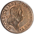 Colonials, 1723/2 1/2P Hibernia Halfpenny MS64 Red and Brown PCGS....