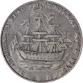 Colonials, 1778-1779 TOKEN Rhode Island Ship Token, No Wreath, Pewter AU50PCGS....