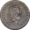 Colonials, 1722 PENNY Rosa Americana Penny, UTILE MS63 Brown NGC....