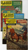 Silver Age (1956-1969):Classics Illustrated, Classics Illustrated Group (Gilberton, 1950s-60s).... (Total: 13Comic Books)