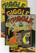 Golden Age (1938-1955):Funny Animal, Giggle Comics Group (Creston, 0) Condition: Average FN+.... (Total:9 Comic Books)