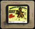 """Movie Posters:Comedy, Go West Lot (MGM, 1940). Glass Slide (3.25"""" X 4"""") and Lobby Card (11"""" X 14""""). Comedy.... (Total: 2 Items)"""