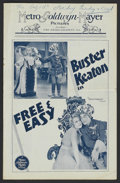 Movie Posters:Comedy, Free and Easy (MGM, 1930). Pressbook (Multiple Pages). Comedy....