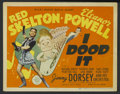 """Movie Posters:Musical, I Dood It (MGM, 1943). Title Lobby Card (11"""" X 14""""). Musical...."""
