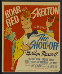 "The Show-Off (MGM, 1946). Window Card (14"" X 17""). Comedy"