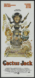 "Movie Posters:Comedy, The Villain (Columbia, 1979). Australian Daybill (13"" X 30""). Also known as Cactus Jack. Comedy...."