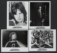 "Gimme Shelter (20th Century Fox, 1970). Stills (4) (8"" X 10""). Rock and Roll.... (Total: 4 Items)"