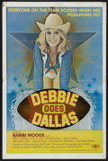 "Movie Posters:Adult, Debbie Does Dallas (Numa, 1978). One Sheet (25"" X 38""). Adult...."
