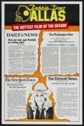 """Movie Posters:Adult, Debbie Does Dallas (Numa, 1978). One Sheet (27"""" X 41"""") Review Style. Adult...."""