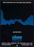 "Movie Posters:Horror, The Abyss (20th Century Fox, 1989). One Sheet (27"" X 40""). Horror...."