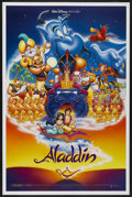 "Movie Posters:Animated, Aladdin (Buena Vista, 1992). One Sheet (27"" X 41"") DS Advance. Animated...."
