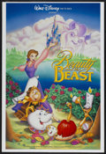 "Movie Posters:Animated, Beauty and the Beast (Buena Vista, 1991). One Sheet (27"" X 40""). Animated...."