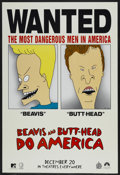 """Movie Posters:Comedy, Beavis and Butthead Do America (Paramount, 1996). One Sheet (27"""" X 40""""). Comedy...."""