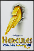 "Movie Posters:Animated, Hercules (Buena Vista, 1997). One Sheet (27"" X 40"") DS Advance.Animated...."