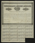 Confederate Notes:Group Lots, Ball 384 Cr. 166 $1000 Bond 1864 Fine. . ...