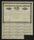Confederate Notes:Group Lots, Ball 383 Cr. 165 $500 Bond 1864 Fine. . ...