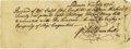 Autographs:Statesmen, Jonathan Trumbull and Oliver Wolcott Manuscript Document Signed...