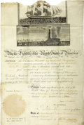 Autographs:U.S. Presidents, James Madison Signed Ship's Passport. ...
