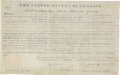 Autographs:U.S. Presidents, Andrew Jackson Signed Land Grant. ...
