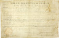 Autographs:U.S. Presidents, James Monroe Document Signed as President. ...