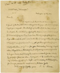 Autographs:U.S. Presidents, John Quincy Adams Autograph Letter Signed ...