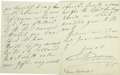 Autographs:Non-American, Queen Adelaide of England, Autograph Letter Signed,...