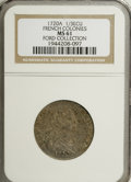 1720-A 1/3 Ecu French Colonies MS61 NGC....(PCGS# 145174)
