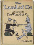 Books:Children's Books, L. Frank Baum. The Land of Oz. A Sequel to The Wizard ofOz. Illustrated by John R. Neill. Chicago: The Reil...