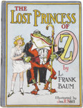 Books:Children's Books, L. Frank Baum. The Lost Princess of Oz. Illustrated by JohnR. Neill. Chicago: The Reilly & Lee Co., [circa 1918...