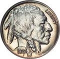 Proof Buffalo Nickels, 1937 5C PR67 NGC. CAC....