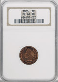 Proof Indian Cents, 1885 1C PR66 Red NGC....