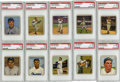 Baseball Cards:Sets, 1950 Bowman Baseball Complete Set (252). Offered is a complete setof the 1950 Bowman Baseball issue. Ten cards have been gr...