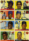 Baseball Cards:Sets, 1955 Topps Baseball Complete Set (206). Offered is a 1955 Toppscomplete set of 206 cards with high powered rookie cards of ...