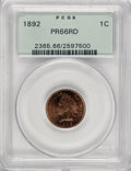 Proof Indian Cents, 1892 1C PR66 Red PCGS....