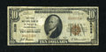 National Bank Notes:Pennsylvania, Juniata, PA - $10 1929 Ty. 1 The First NB Ch. # 8238. ...