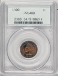 Proof Indian Cents, 1900 1C PR64 Red and Brown PCGS....