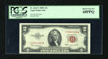 Small Size:Legal Tender Notes, Fr. 1512* $2 1953C Legal Tender Star Note. PCGS Superb Gem New 68PPQ.. ...