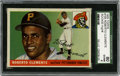 Baseball Cards:Singles (1950-1959), 1955 Topps Roberto Clemente #164 SGC 80 EX-NM 6. The icon known asRoberto Clemente seemingly possessed enough talent to do...