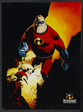 "Movie Posters:Animated, The Incredibles (Buena Vista, 2004). Promotional Poster (20"" X 27"")Advance. Animated...."