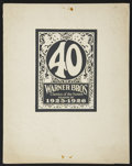 """Movie Posters:Miscellaneous, Warner Brothers Exhibitor Book (Warner Brothers, 1925-26). Exhibitor Book (11"""" X 14"""") (Multiple Pages). Miscellaneous...."""