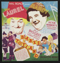 "Movie Posters:Comedy, Laurel and Hardy Lot (MGM, 1932-1938). Heralds (Various Sizes) and Magazine Pages (2) (9.25"" X 12.25""). Comedy.... (Total: 9 Items)"