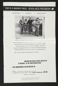 """Movie Posters:Crime, Bonnie and Clyde (Warner Brothers-Seven Arts, 1967). Pressbook (11""""X 17"""")(Multiple Pages). Crime...."""