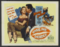 """Movie Posters:Film Noir, Kiss Me Deadly Lot (United Artists, 1955). Half Sheet (22"""" X 28"""") Style B and Title Lobby Card (11"""" X 14""""). Film Noir.... (Total: 2 Items)"""