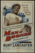 """Movie Posters:Sports, Jim Thorpe - All American (Warner Brothers, 1951). One Sheet (27"""" X 41""""). Sports. Also released as Man of Bronze...."""