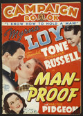 "Movie Posters:Comedy, Man-Proof (MGM, 1938). Pressbook (14"" X 20""). Comedy...."