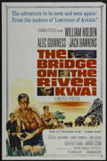 "Movie Posters:Academy Award Winner, The Bridge On The River Kwai (Columbia, R-1963). One Sheet (27"" X 41""). Academy Award Winner...."
