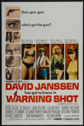"Movie Posters:Mystery, Warning Shot (Paramount, 1967). One Sheet (27"" X 41""). Mystery...."