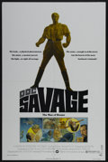 "Movie Posters:Adventure, Doc Savage: The Man of Bronze (Warner Brothers, 1975). One Sheet(27"" X 41""). Adventure...."