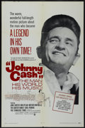 "Movie Posters:Documentary, Johnny Cash! The Man, His World, His Music (Continental, 1969). One Sheet (27"" X 41""). Documentary...."