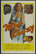 "Movie Posters:Bad Girl, Man Crazy (20th Century Fox, 1953). One Sheet (27"" X 41""). BadGirl...."